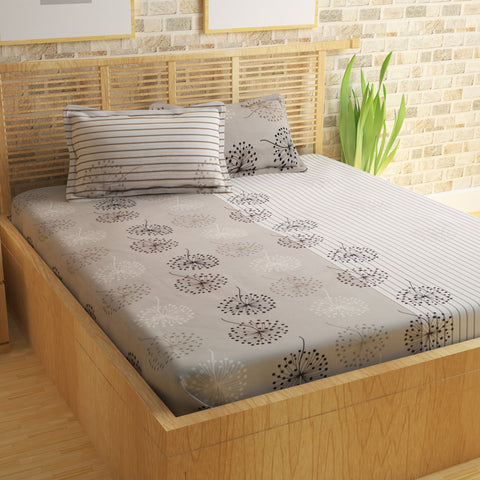 Metro Cotton Double Bedsheet - 186 TC