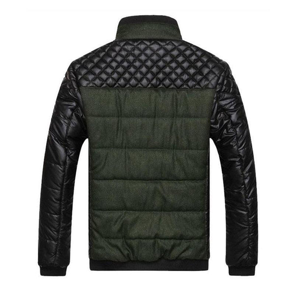 The Nautilus Puffer Jacket Forest Green
