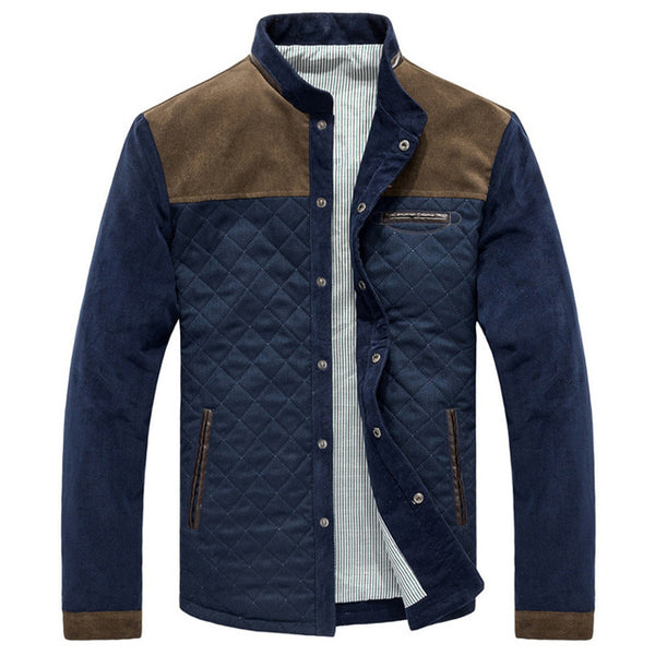 The Mosswood Corduroy Patched Jacket