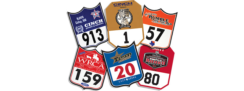 Carroll Original Wear Felt Numbers