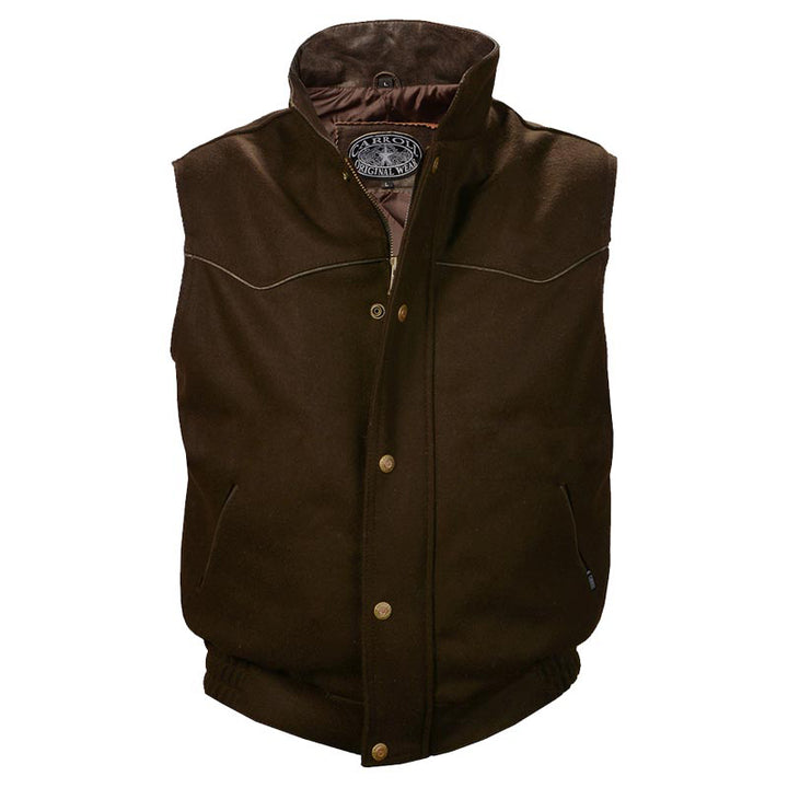 Youth Gunsmoke Vest - Brown