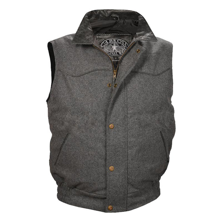 Youth Gunsmoke Vest - Gray