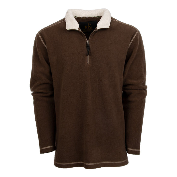 Men's Cogburn Pullover - Chocolate