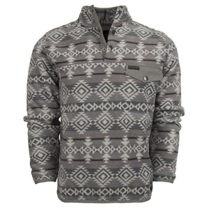Unisex Aztec Fleece - Gray