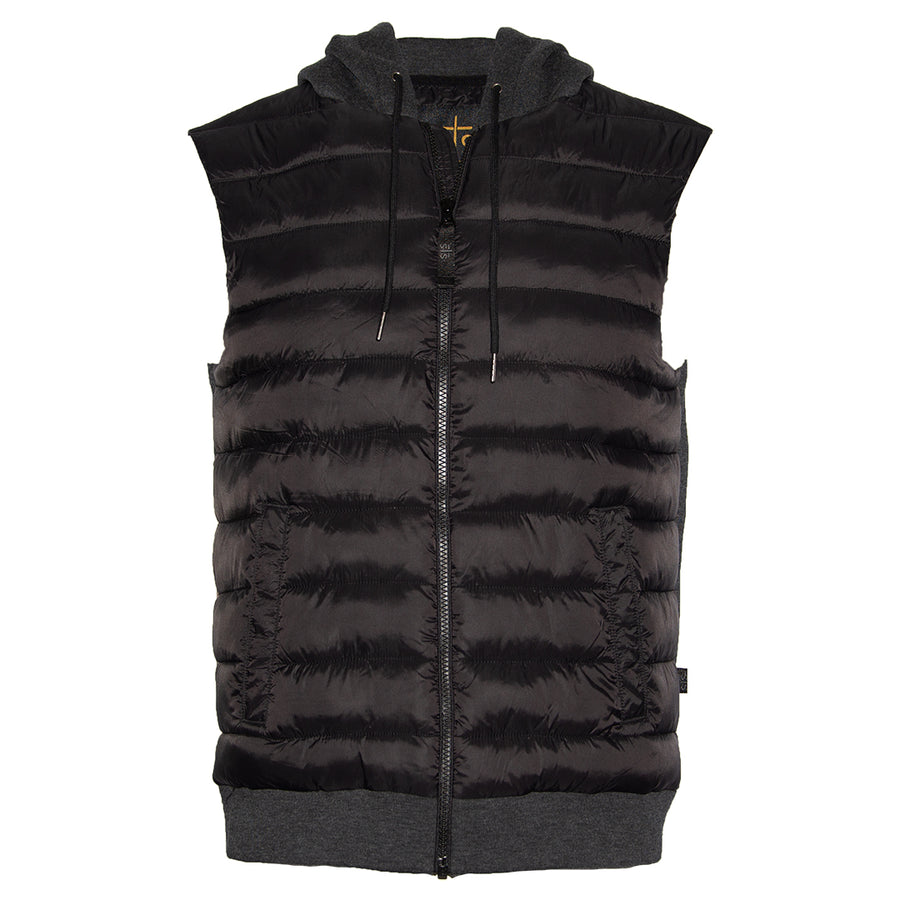 Youth Witten Vest - Black