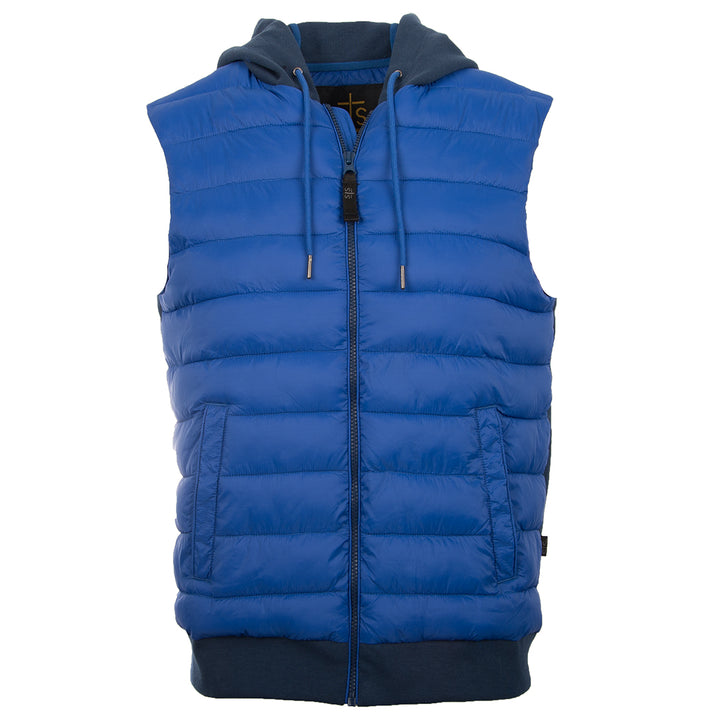 Youth Witten Vest - Navy