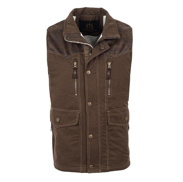 Men's Frisco Vest - Brown