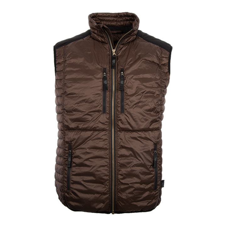 Men's Journey Vest - Chocolate