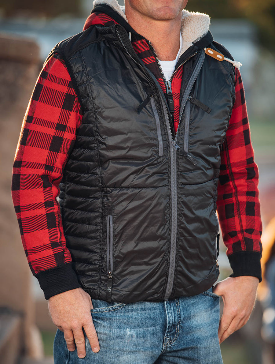 Men's Journey Vest - Black
