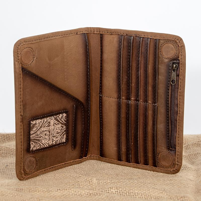 Magnetic Wallet - Brown