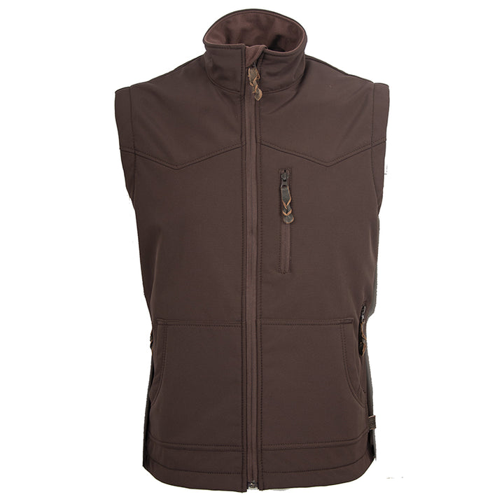 Men's Barrier Vest - Brown