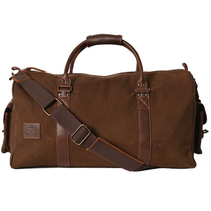 Foreman Chocolate Canvas Duffle