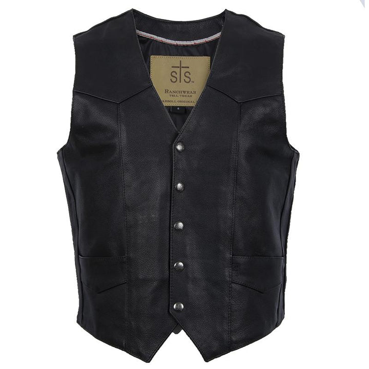 Men's Chisum Vest - Black