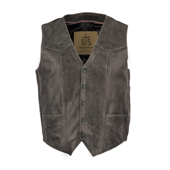 Men's Chisum Vest - Gunsmoke