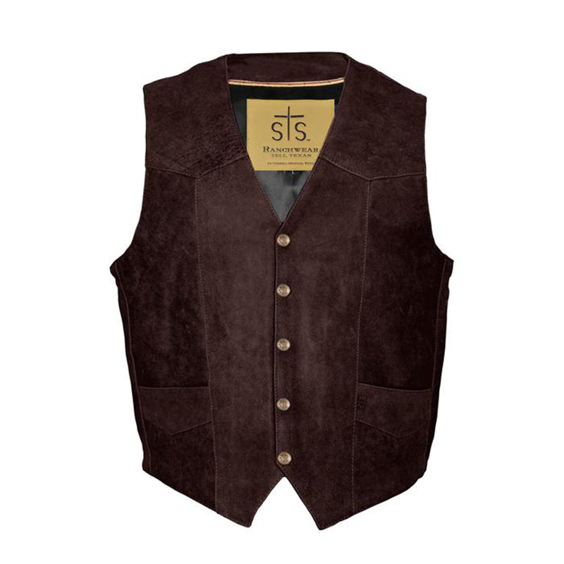 Men's Chisum Vest - Brandy