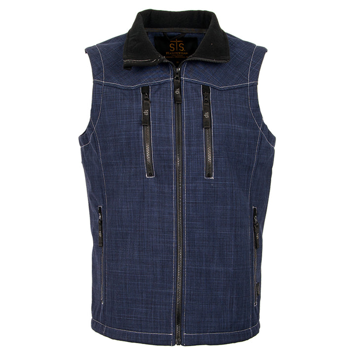 Men's Perf Vest - Navy