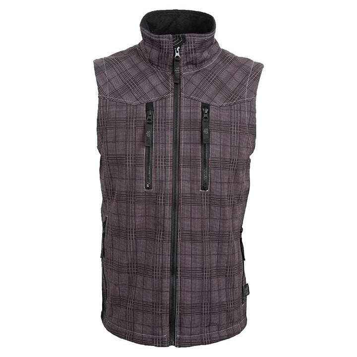 Youth Perf Vest - Charcoal