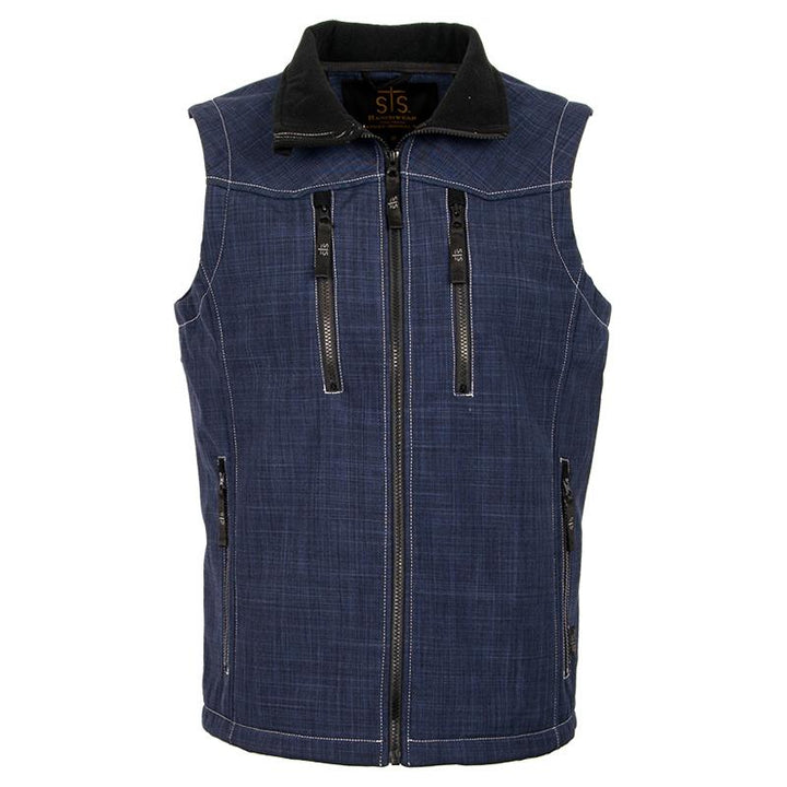 Youth Perf Vest - Navy