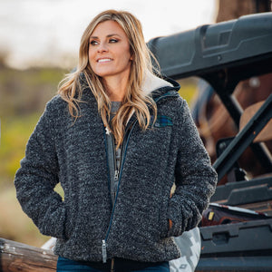 Ladies Riata Jacket - Charcoal
