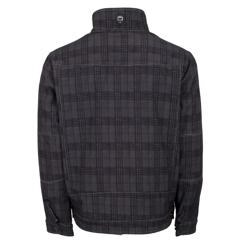 Men's Perf - Charcoal Plaid