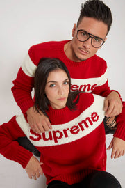 Supreme -  Maglione Logo (Christmas Flash 2) FW18/19