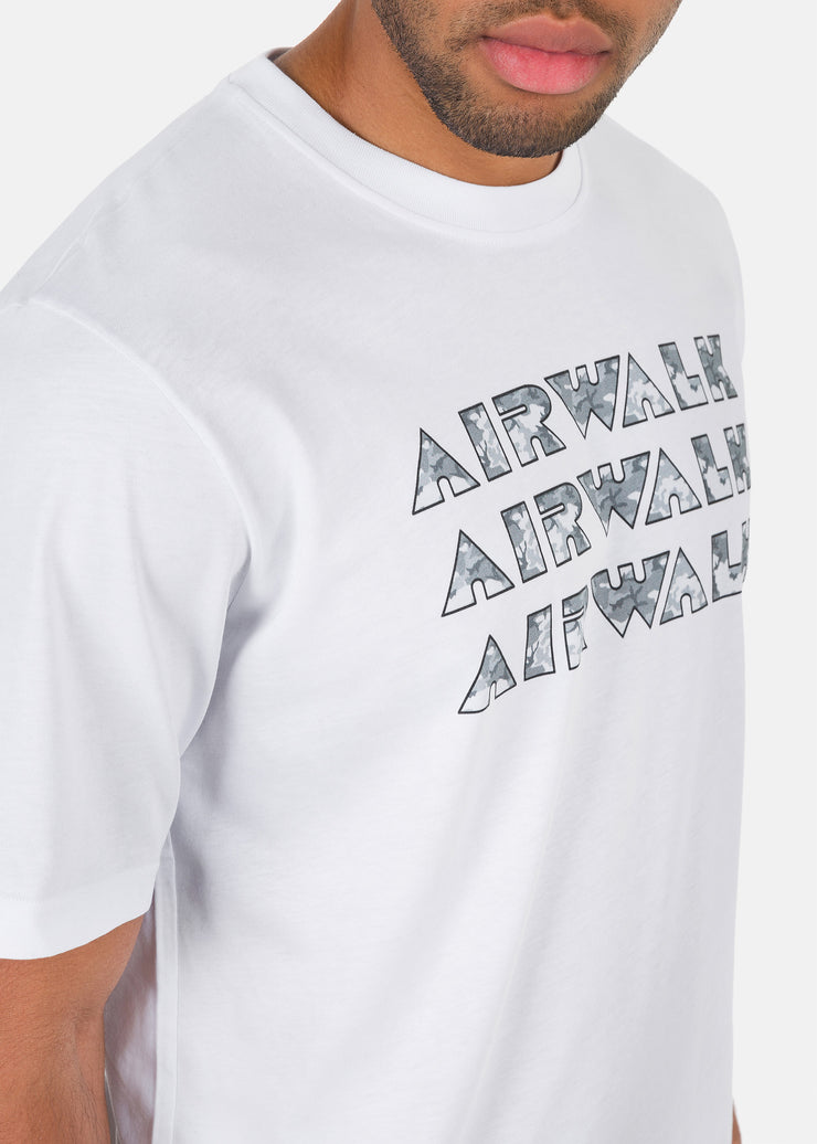 Airwalk - T-Shirt Logo Camouflage