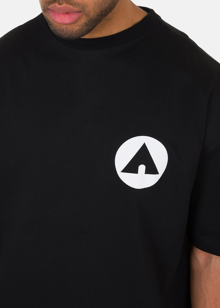 Airwalk - T-Shirt Con Stampa Fronte/Retro