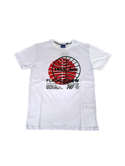 Pan Am Kids - T-shirt Con Logo Flight Crew