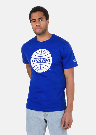 Pan Am - T-Shirt Logo Stampato