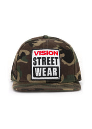 Vision Street Wear - Camouflage Cap