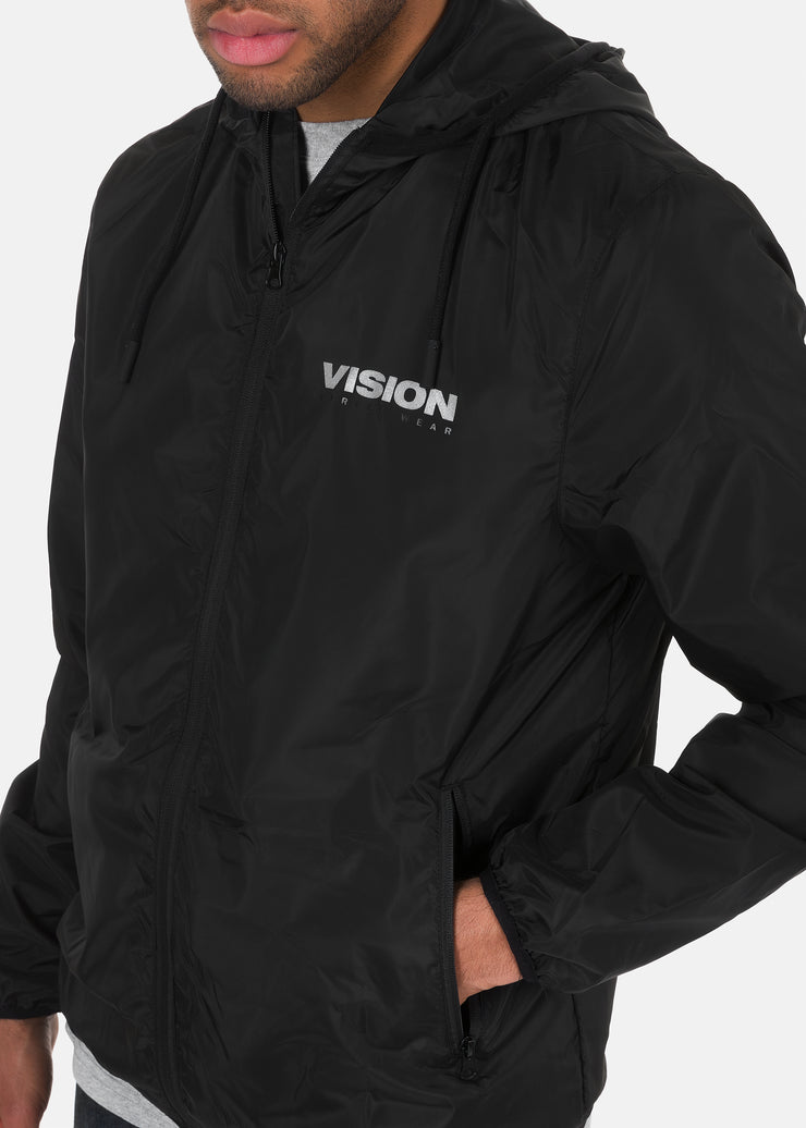 Vision Street Wear - Giacca Con Stampa Catarifrangente