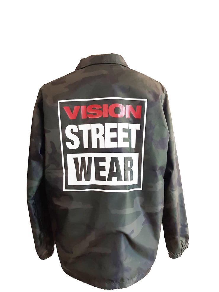 Vision Street Wear - Giacca Camouflage Stampata