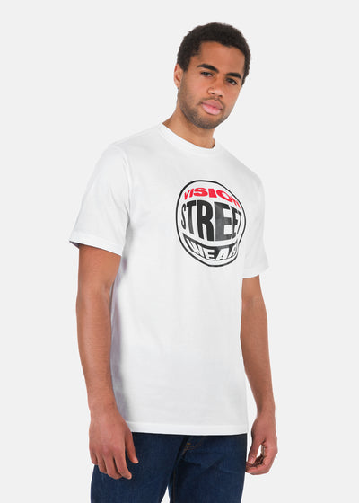 Vision Street Wear - T-Shirt Con Rounded Logo