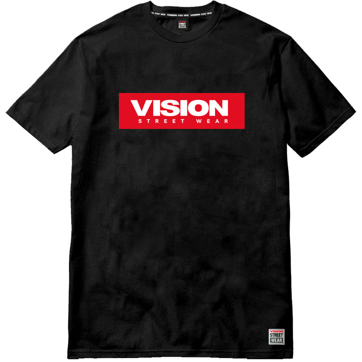 Vision Street Wear Kids - T-Shirt Con Boxlogo Rosso