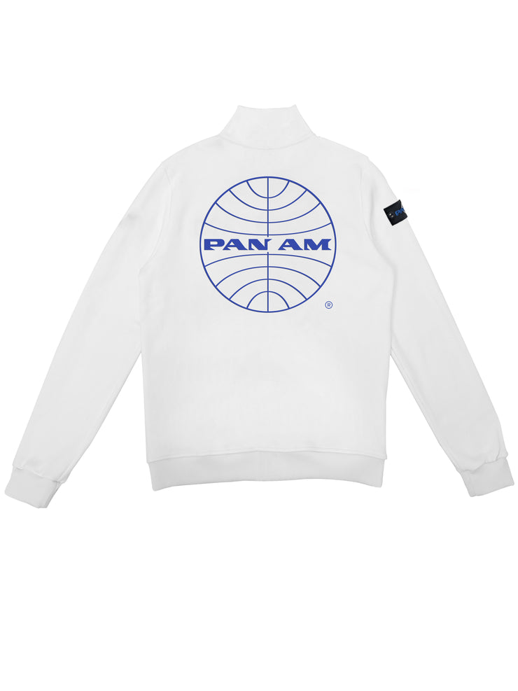 Pan Am - Felpa Girocollo Con Zip