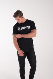 T SHIRT LOGO NERO
