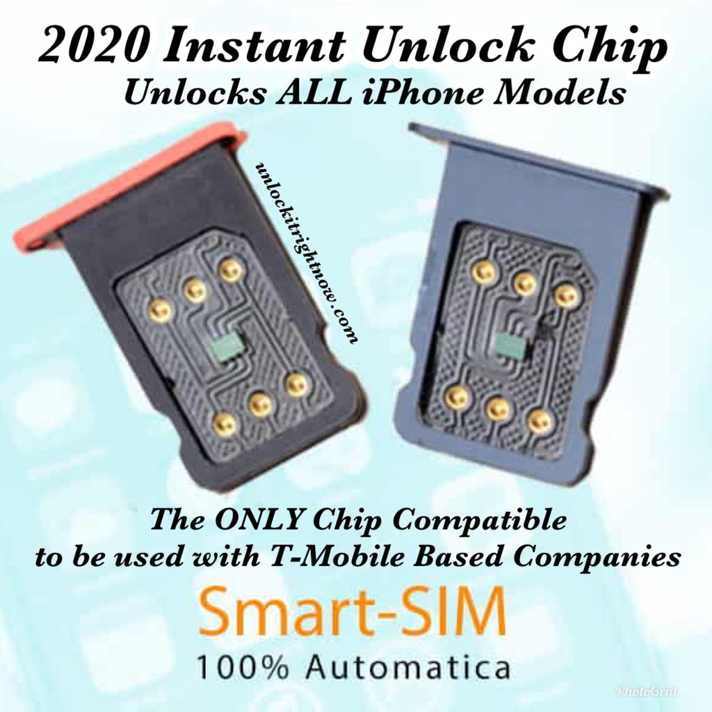 2020 Instant Unlock Sim for T-Mobile Network Based Customers