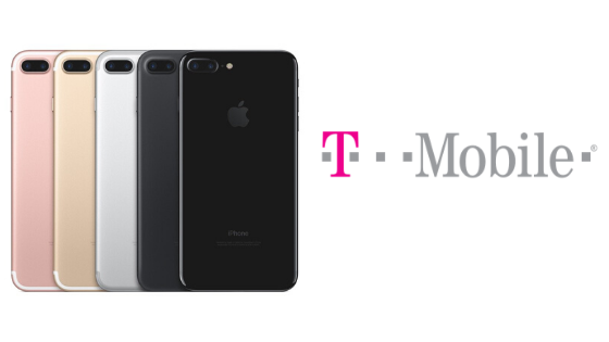 How do I Unlock my T-Mobile iPhone 7?