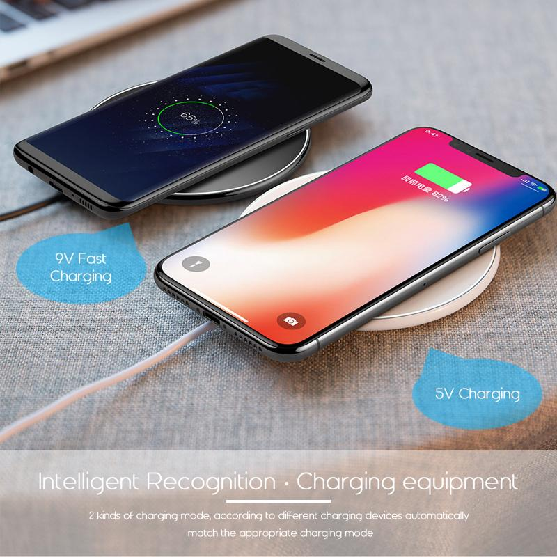Fast Wireless Charging Pad For iPhone/Galaxy