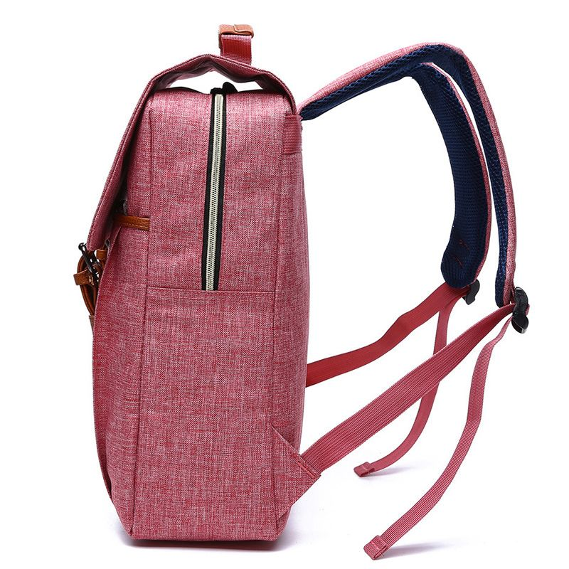 Men Women Canvas Backpacks School Bags for Teenagers Boys Girls Large Capacity Laptop Backpack