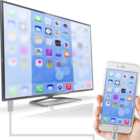 iPhone HDMI Cable - Connect iPhone to TV/Projector