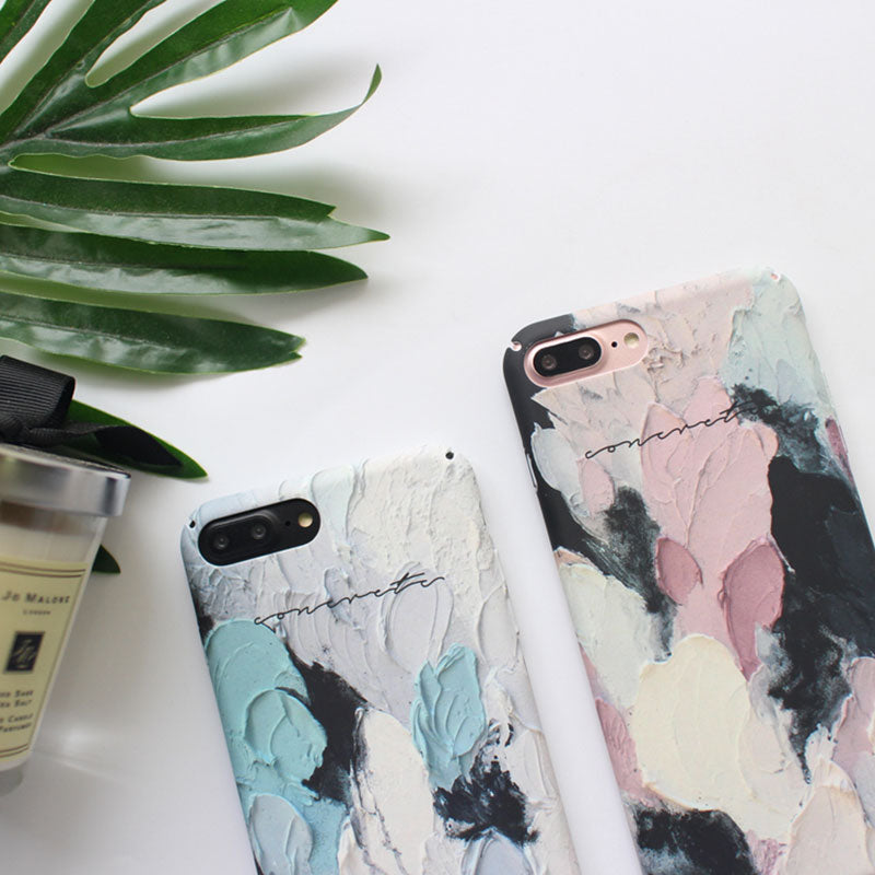 Oil Painting iPhone Case for 6/6s/7/7+/8/8+/X/XS/XS Max/XR