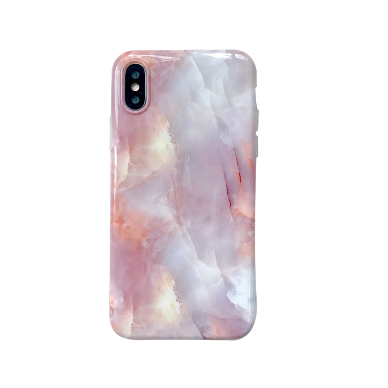 For iphone X XR XS XS Max case Granite Scrub Marble Case soft TPU case for iphone 6 7 8 7 7plus Protective shell