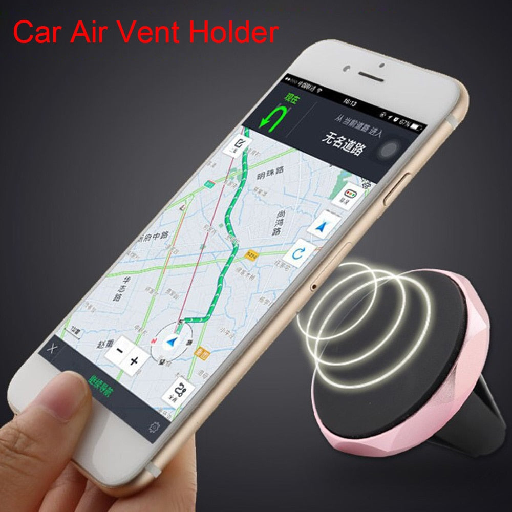 Universal Car Phone Holder 360 Degree GPS Super Magnetic Mobile Phone Holder For iPhone 7 Samsung S8 Magnet Mount Holder Stand