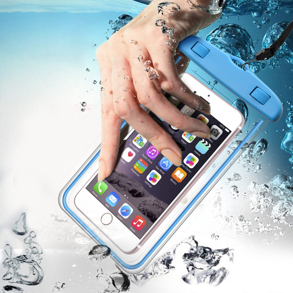Waterproof Phone Case For iPhone 7 6S Coque Pouch Waterproof Bag Case For Samsung Galaxy S8 Swim Waterproof Case