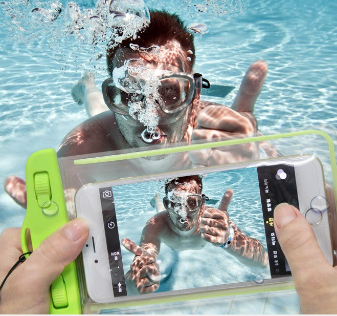 Waterproof Case for Samsung Galaxy s8 J5 s4 s5 s6 s7 Grand Prime Case Underwater Luminous Pouch Cas