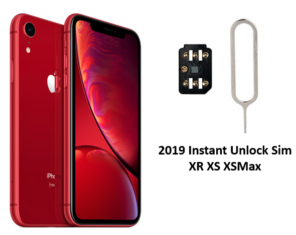 2019 iPhone XR / XS / XS Max Instant Unlock SIM (10 COUNT)