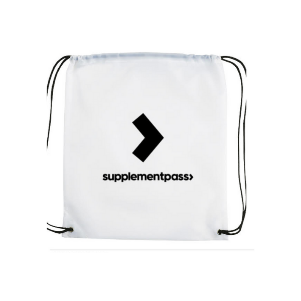 SupplementPass™ Drawstring Bag
