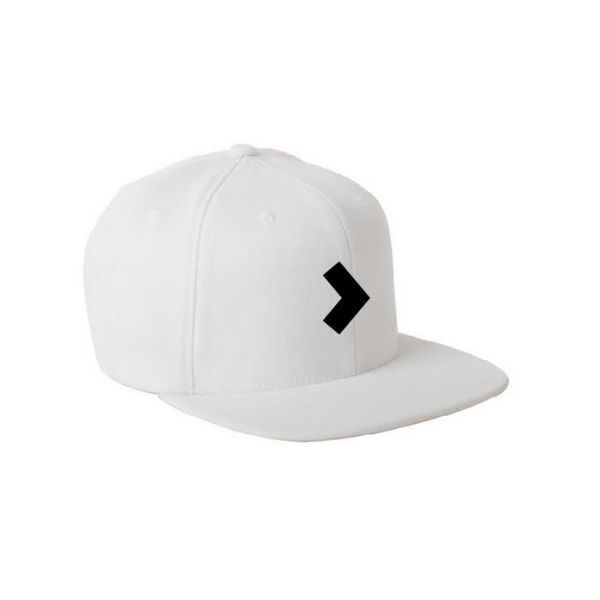 "SupplementPass™ ""Forward"" SnapBack - White"