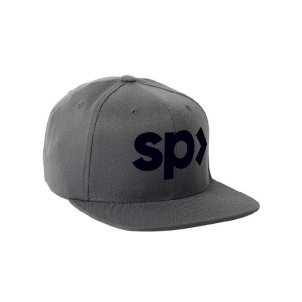 "SupplementPass™ ""Logo"" SnapBack - Grey"